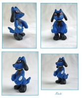 Riolu figure by michal-sobota