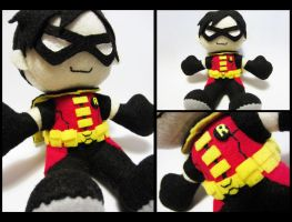 Young Justice: Robin Plushie by Lylee