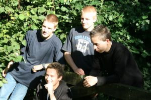 Me,Roy, Addo, Haico by Crusnick