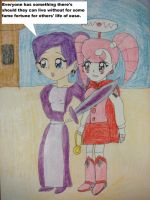 Scarygirl has Ai-Ya in hostage by Magic-Kristina-KW