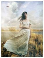 Girl in White by kayceeus
