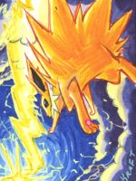 Jolteon's Thunder by Porcubird