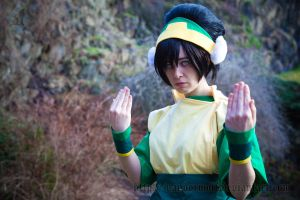Avatar: Earthbender Toph by VandorWolf