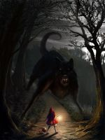 Big bad wolf by Edli
