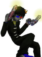 Souleaterstuck - Sollux by Night-of-Void