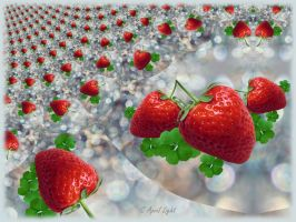 Strawberry field by AprilLight