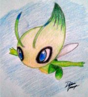 Celebi: Voice of the Forest by firecracker80850