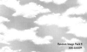 Random Image Pack 9 - 600DPI by screentones