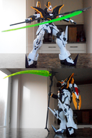 MG - XXXG-01D Gundam Deathscythe EW ver. by IrishWolven