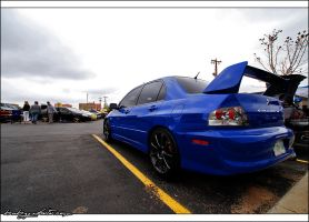 Mitsubishi Evolution VIII by bubzphoto