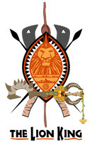 Lion king coat of arms by Samoht-Lion