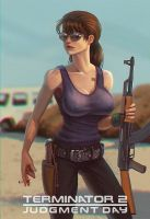 Sarah Connor by Matiush83