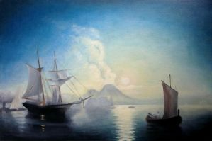Reproduction Aivazovsky by LimonTea
