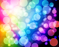 Colorful Bokeh [Blur] by RiceyRain