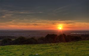 HDR Sunset by carlsilver