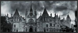 The Royal Courts of Justice by jeremi12