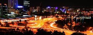 Night-time Perth by GerryMac
