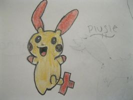 Plusle by animeVampire-cat