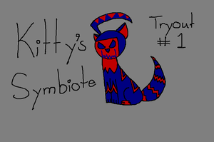 Kitty's Symbiote Form Tryout #1 by NyctoScoto