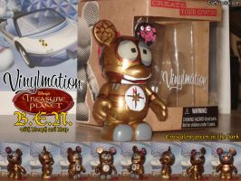Custom Vinylmation - B.E.N. with Morph and Map by Stitchfan