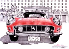250 California at the Breakers by ferrariartist