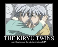 Vampire Knight-The Kiryu twins by justanother763