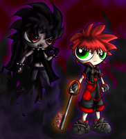 Becky and Dark Trance Becky by Aggiepuff