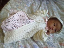 Knitted Outfit for Sahra by ToveAnita