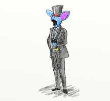 Gentleman Zubat by The-End-Inc