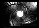 Staircase - Santiago by inessentialstuff