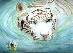 White Tiger by ellensama