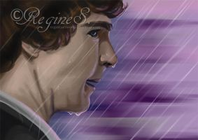 Sherly in the Rain by ReginesArtwork