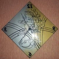 MLP - 'Chaotic clock' (ENGRAVE) by Cerebralis