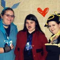 My friends And I Cosplaying At Kami Con 2013 by Drizzle-The-Glaceon