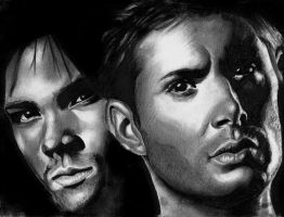 Winchesters by Vioolett-V