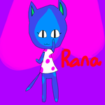 ACNL OC-Rana by DarkAngelofMinecraft