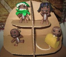 LBP Toys by manamanson