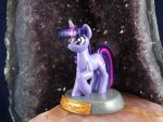 Twilight Sparkle Statuette (left view) by DeadHeartMare