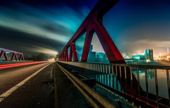 Bridge Hamm I by wolfgangbuhr