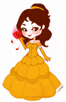 Fluffy Belle by cerena