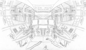 Mech Cockpit by ulyses