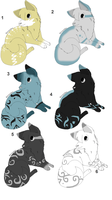 Puppy adopts 6 by Icey-adopts