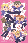 Ouran High School Host Club by BunnyTheAssassin