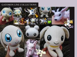Gatomon Line by digiegg