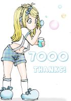 7000 thanks by HeavenAndSky