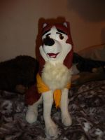 plush  rare Jenna from Balto for sale /auction by xoxoxivoryxoxox