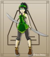 Kayte Yin :Avatar Version: by TeamFusion117