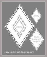 Stamp Templates Diamond2 by Bnspyrd