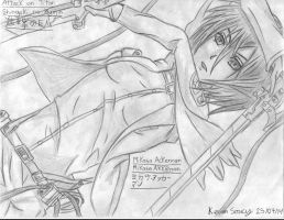 Drawing 32 (Manga) Mikasa Ackerman (Keven Soucy) by Kdor2684