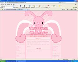 .:Website Preview:. by PhantomCarnival